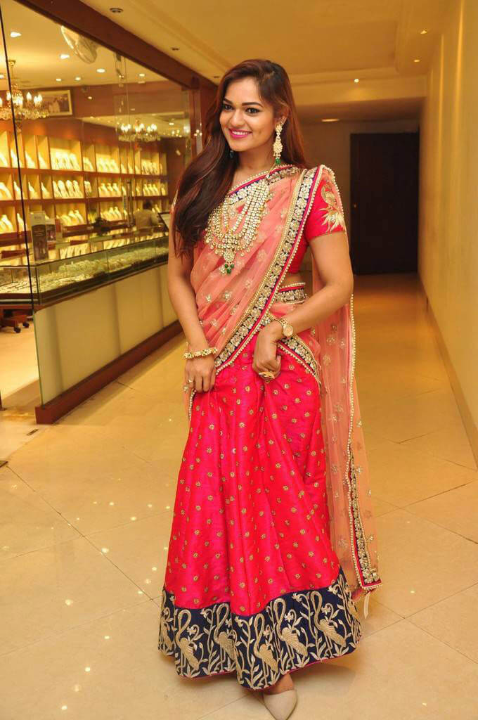 Ashwini at Trendz Vivah Exhibition Launch