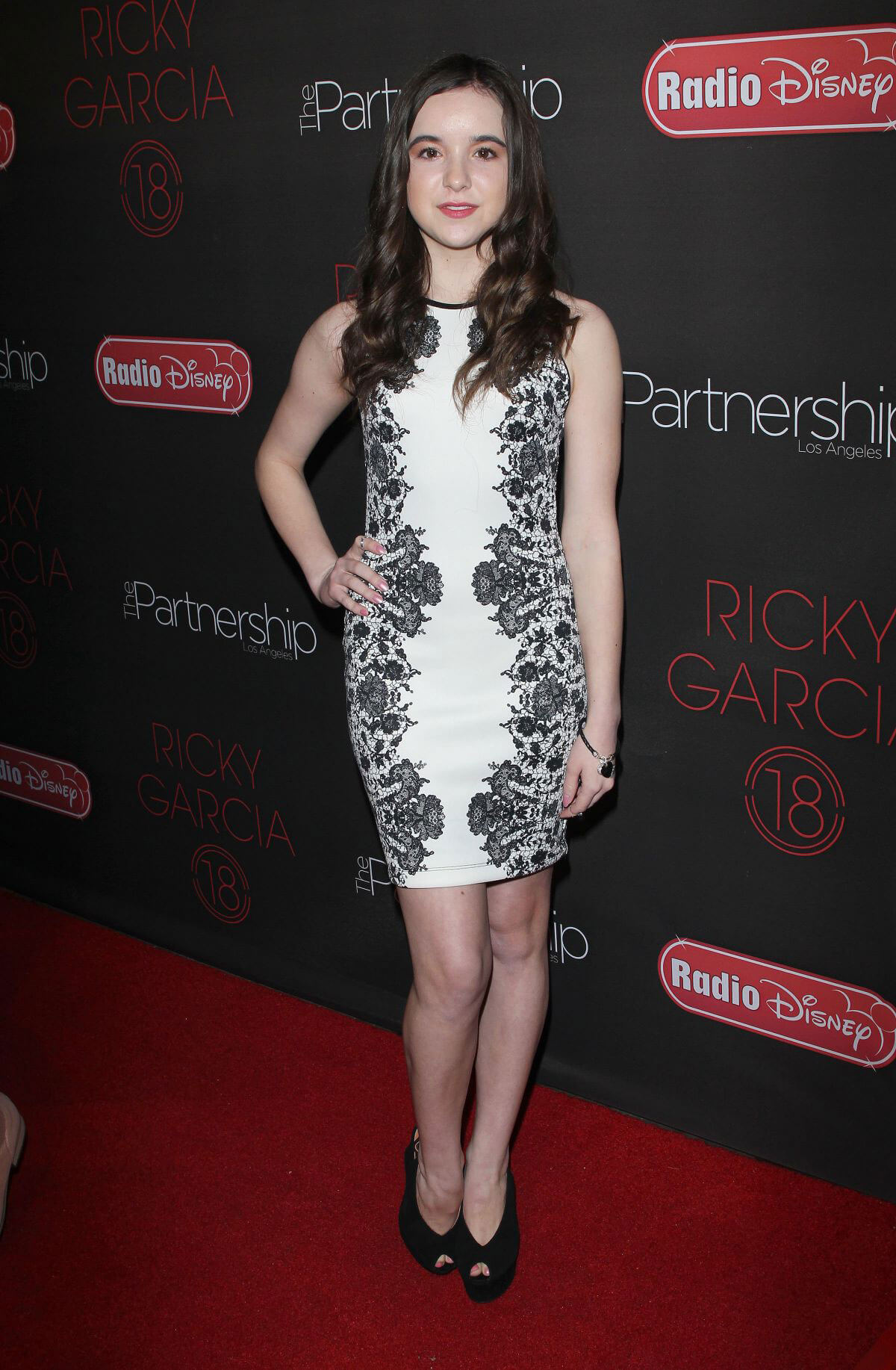 Aubrey Miller at Ricky Garcia's 18th Birthday Bash in Los Angeles