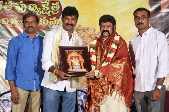Balakrishna Gautamiputra Satakarni Fans Meet Photos