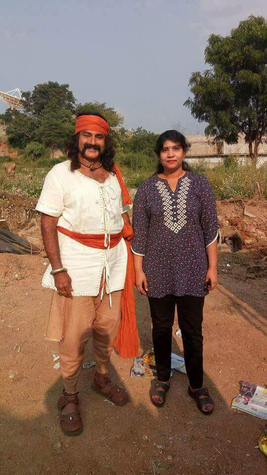 Balakrishna Gautamiputra Satakarni Telugu Movie Working