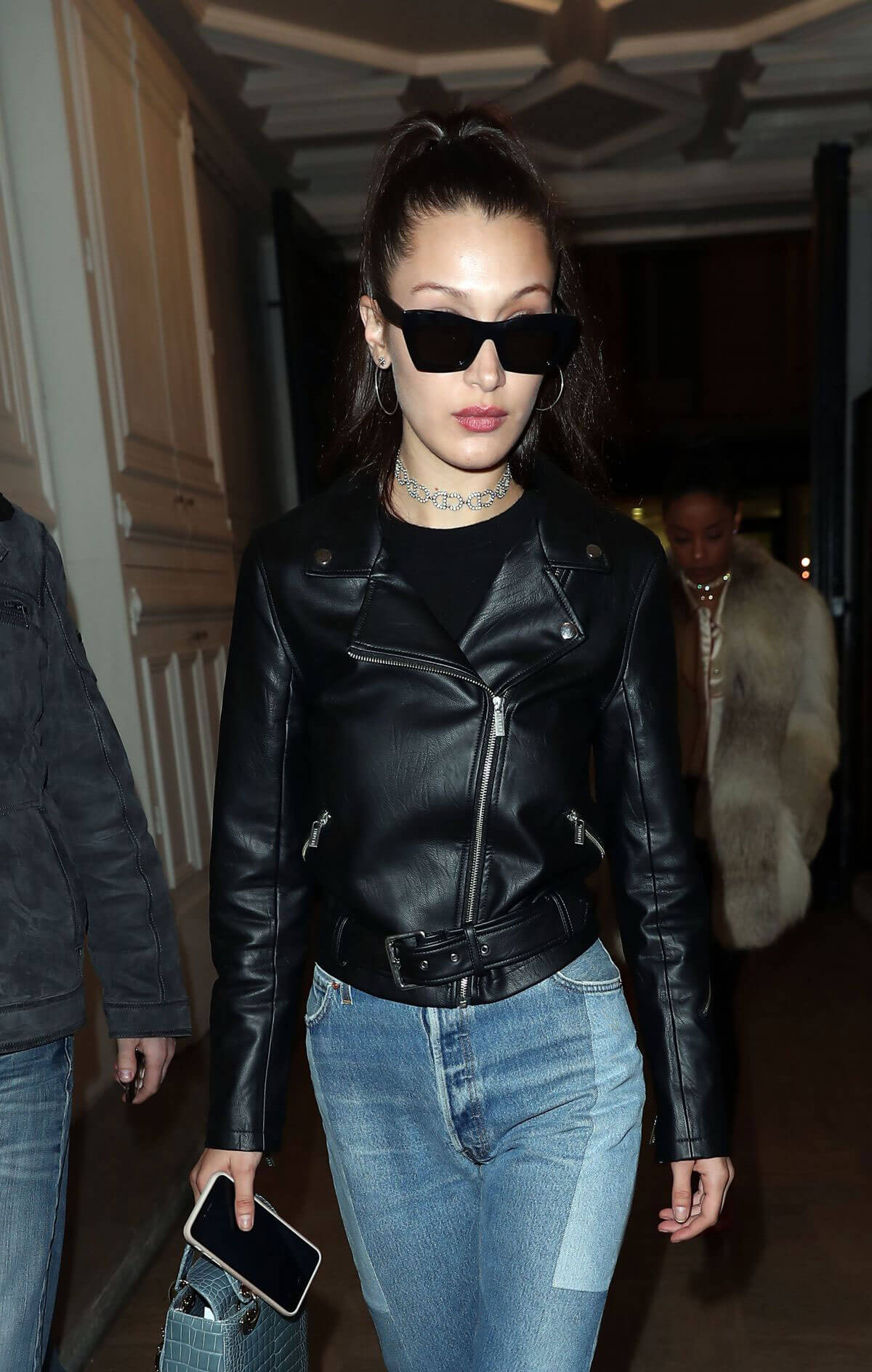 Bella Hadid Out and About in Paris