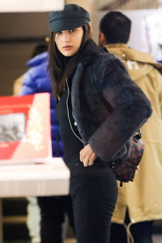 Bella Hadid Stills Out and About in Aspen