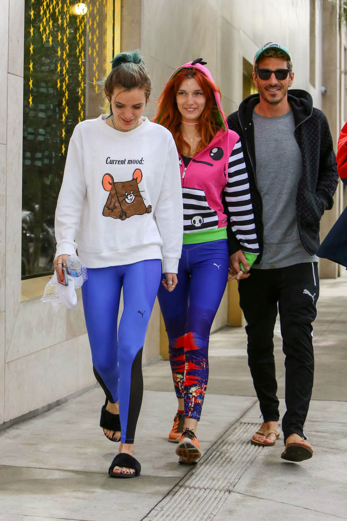 Bella Thorne and Dani Thorne After Workout in Los Angeles