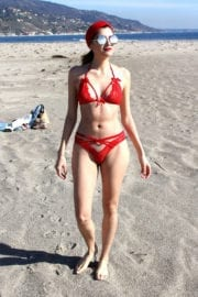 Blanca Blanco in Bikini at a Beach in Malibu Stills Images