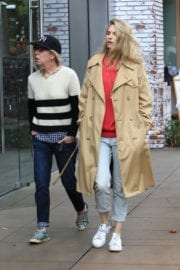 Brit Marling Shopping at the Grove in Los Angeles