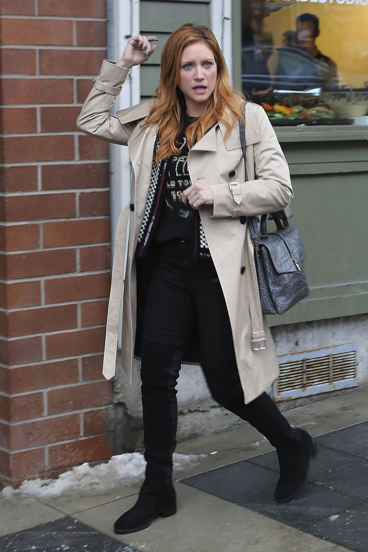 Brittany Snow Out in Park City
