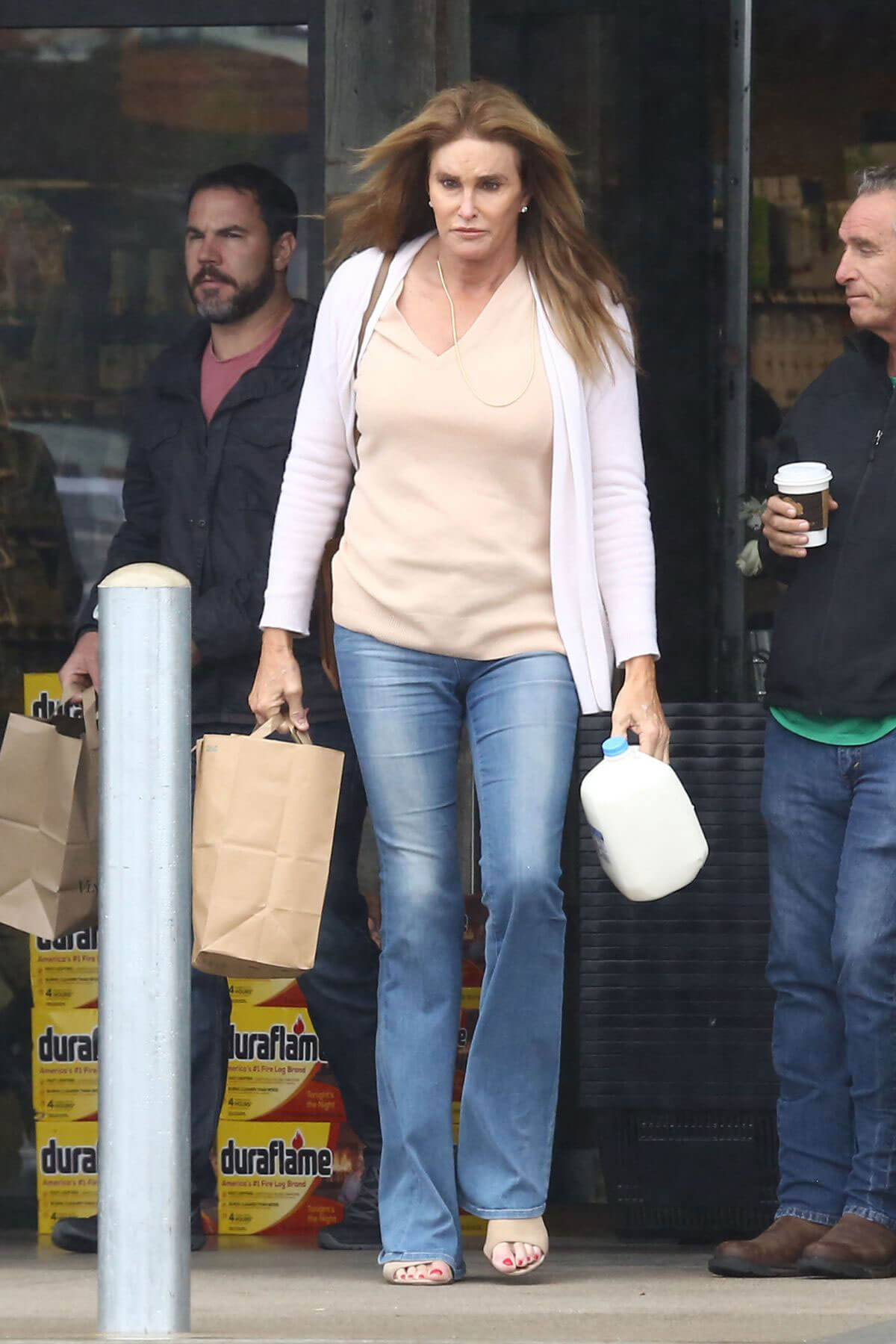 Caitlyn Jenner Out Shopping in Beverly Hills
