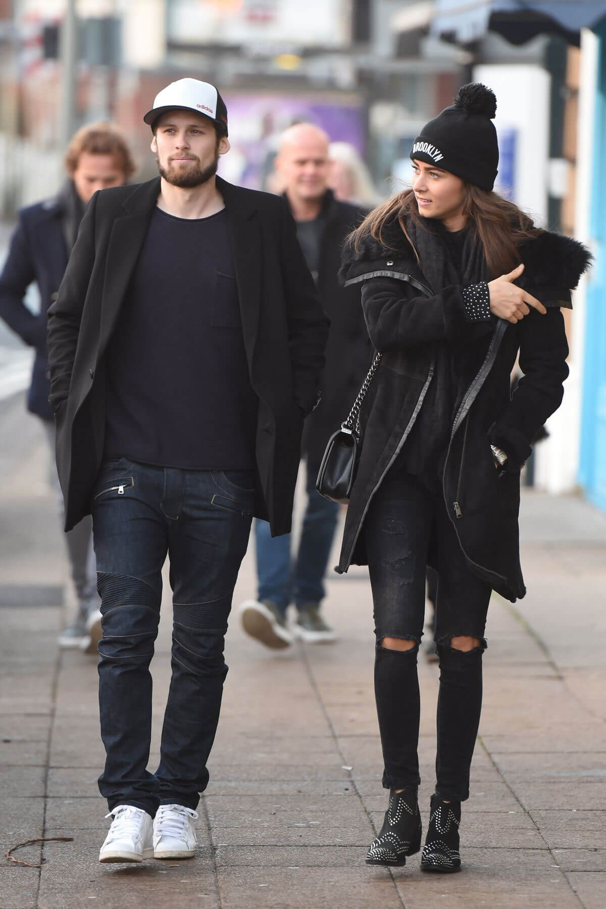 Candy-Rae Fleur Out for Lunch in Cheshire