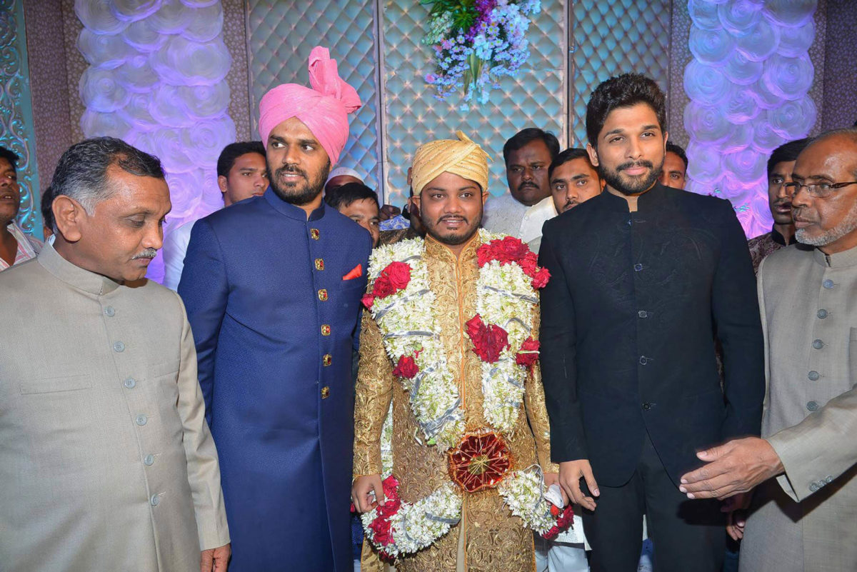 Celebrities at Syed Ismail Ali Daughter Wedding Photos