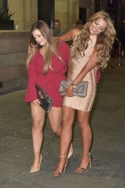 Chloe Ferry and Abbie Holborn Night Out in Newcastle Photos