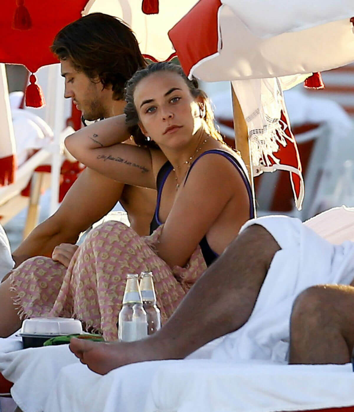Chloe Green on The Beach in Miami