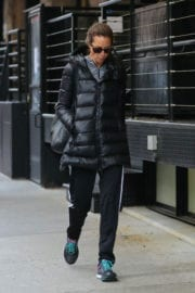Christy Turlington Leaves a Gym in New York Images