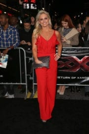 Courtney Friel at 'XXX: The Return of Xander Cage' Premiere in Hollywood