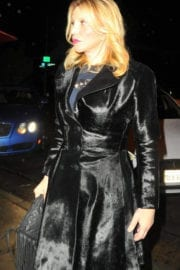 Courtney Love Out for Dinner at Craig's in West Hollywood