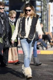 Daisy Fuentes Stills Out for Shopping in Telluride Images