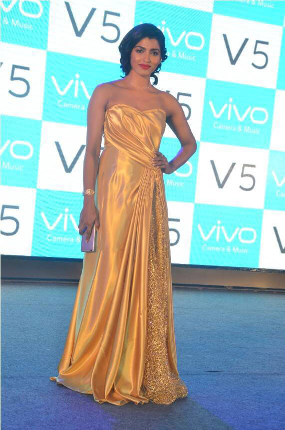 Dhansika at Vivo V5 Mobile Launch