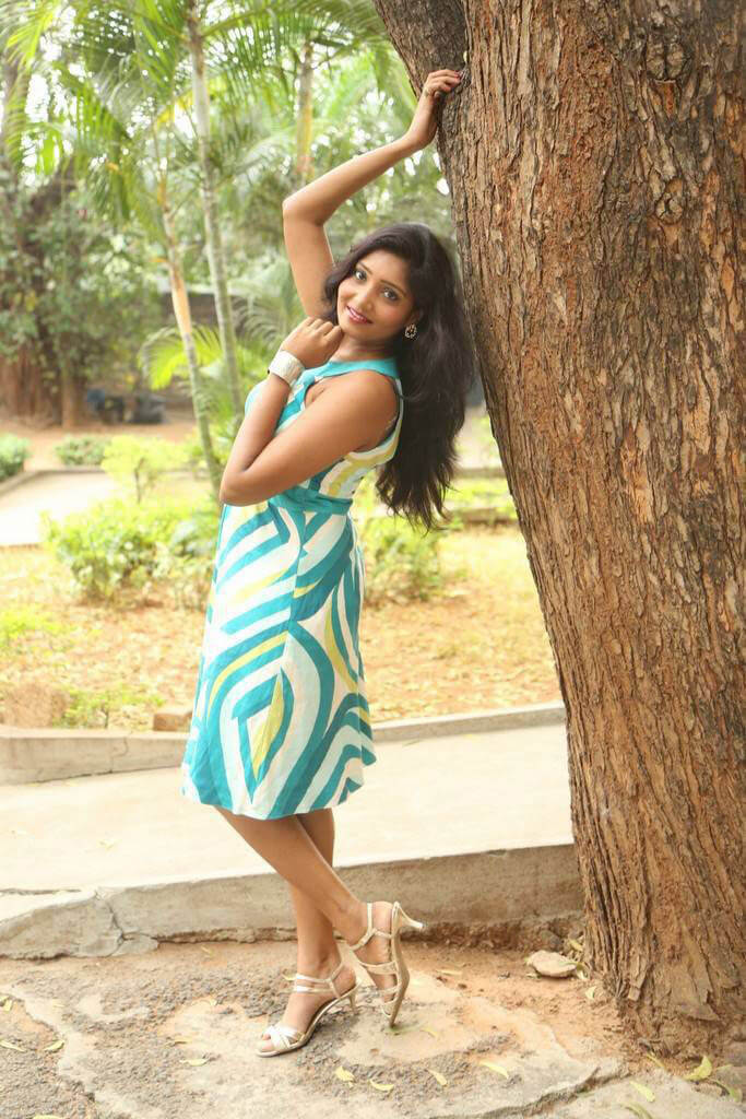 Eesha at Ameerpet Lo Movie Press Meet
