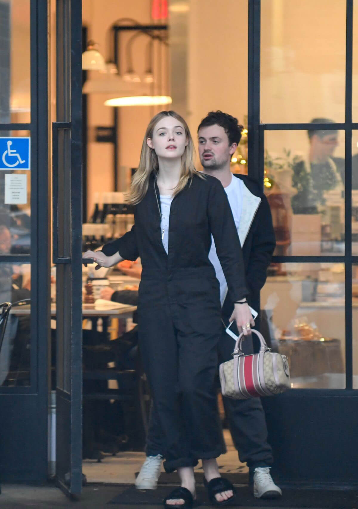 Elle Fanning and Boyfriend Dylan Beck Out in Studio City