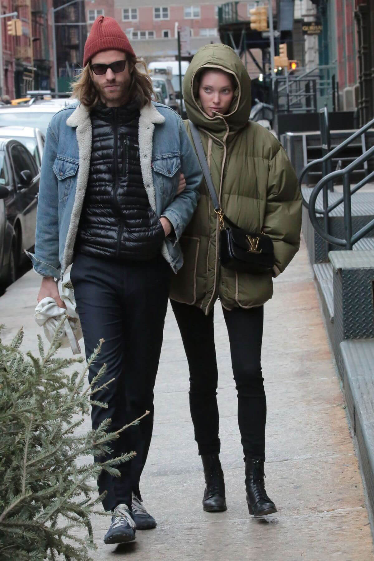 Elsa Hosk and Tom Daly Shopping Out in New York Photos