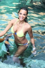 Eva LaRue in Bikini Photos in Instagram