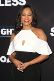 Garcelle Beauvais Arrives at 'Sleepless' Premiere in Los Angeles