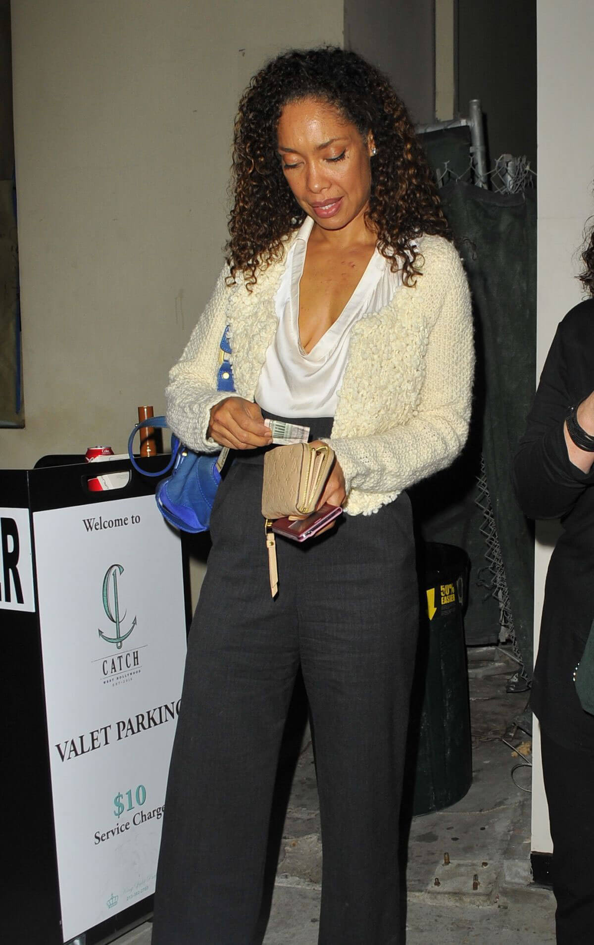 Gina Torres Stills at Catch LA in West Hollywood Photos
