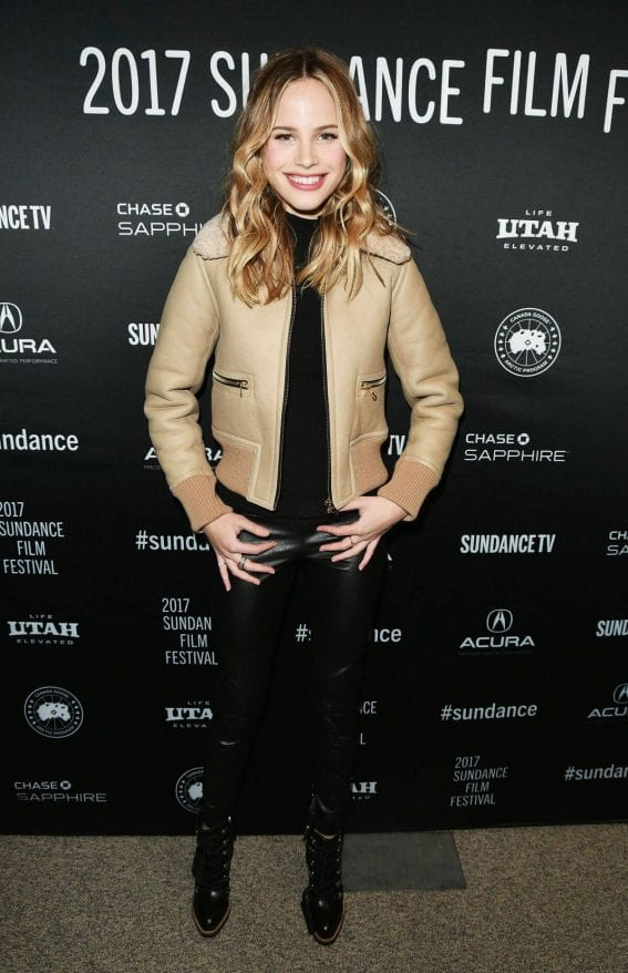 Halston Sage at 'Before I Fall' Premiere at 2017 Sundance Film Festival