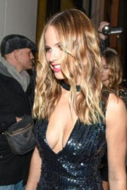 Halston Sage at Catch LA in West Hollywood