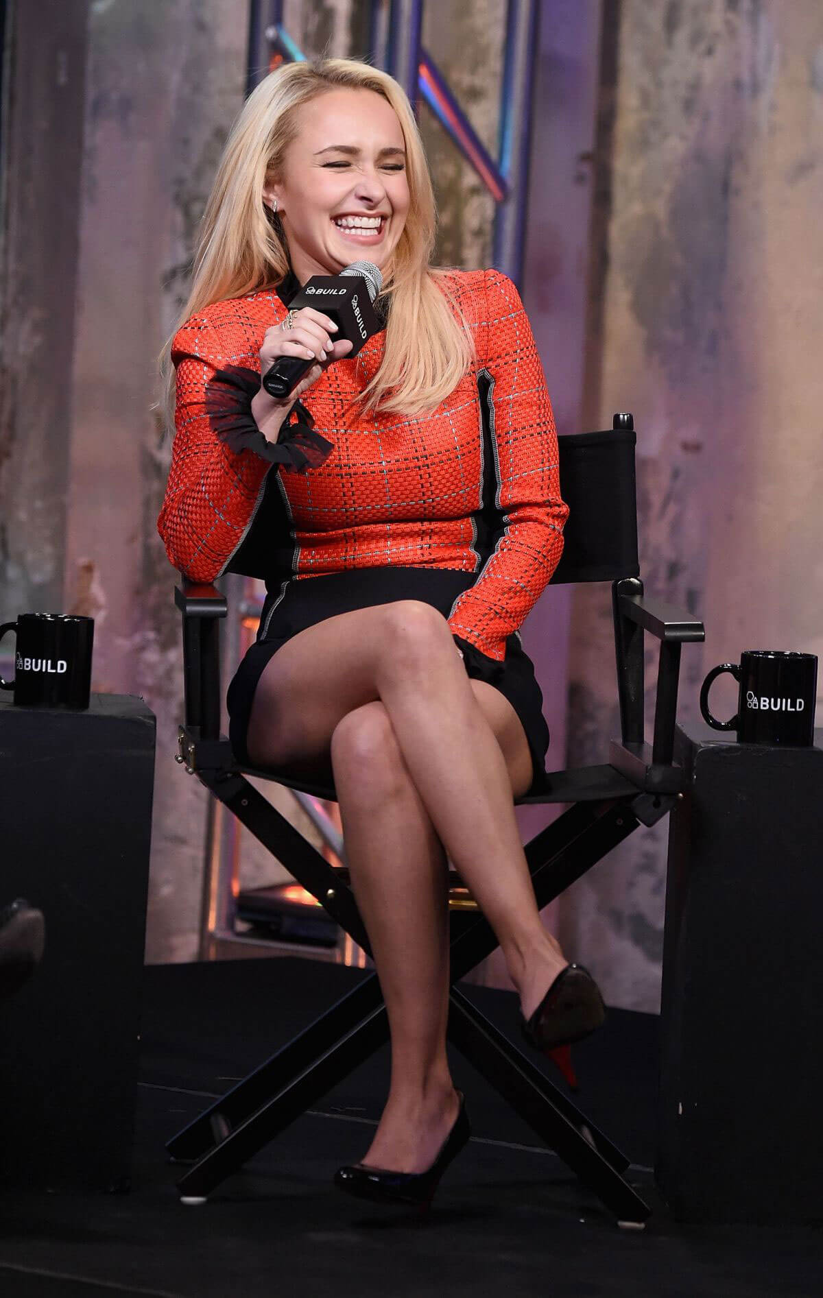 Hayden Panettiere at AOL Build Speakers Series in New York