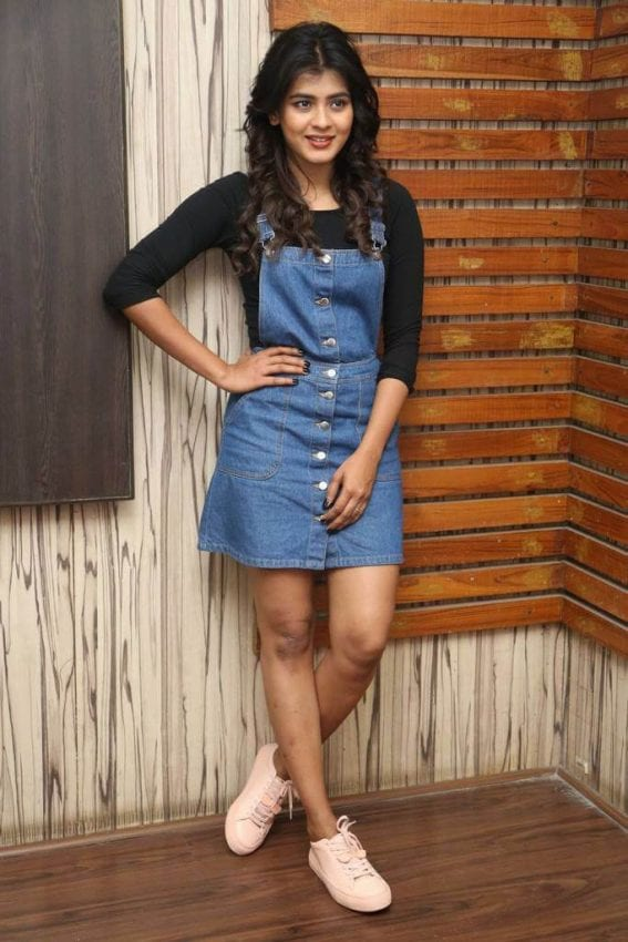 Hebah Patel at Nanna Nenu Naa Boyfriends Interview