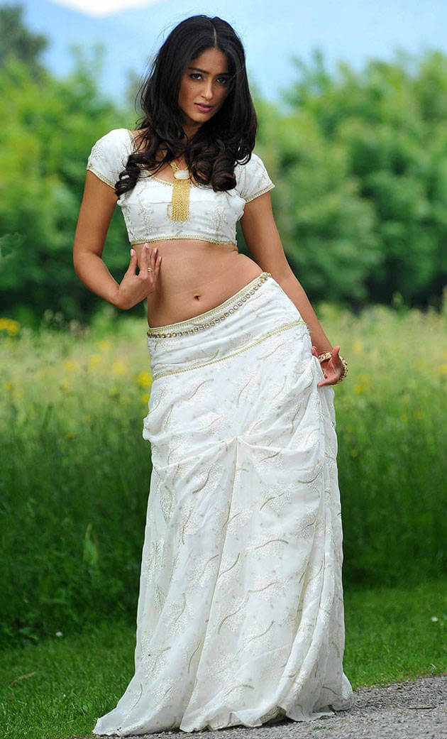 Ileana Dcruz Photoshoot in White Dress