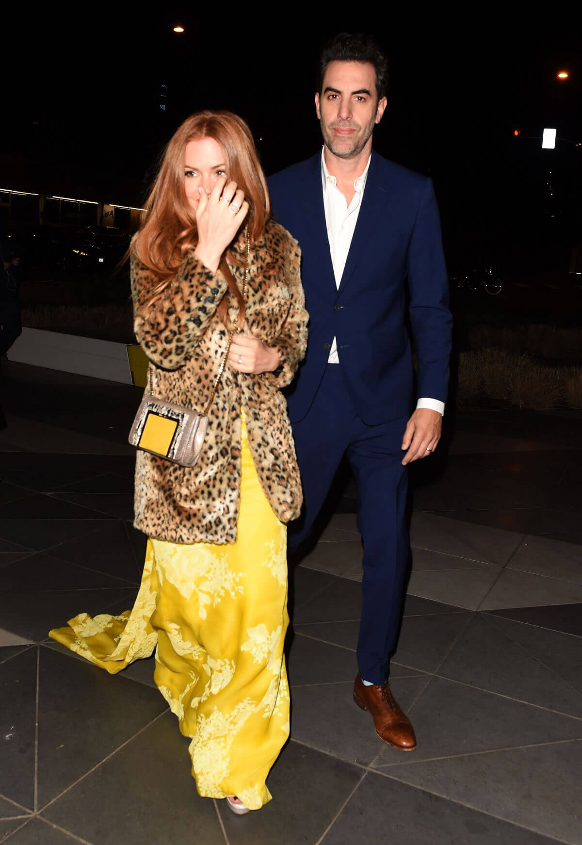 Isla Fisher Night Out in Los Angeles