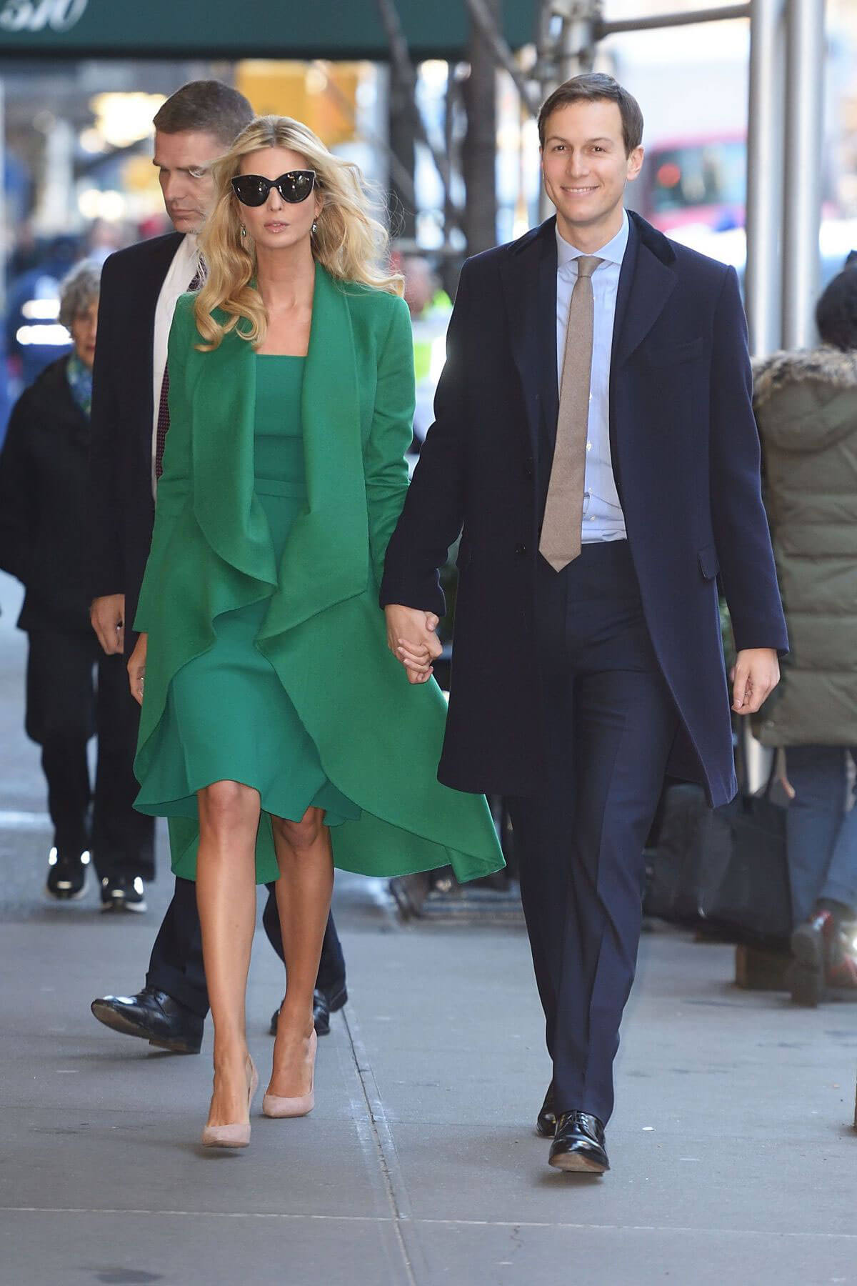 Ivanka Trump out with Her Husband Jared Kushner in New York