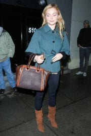 Izabella Miko Leaves a Dinner in West Hollywood