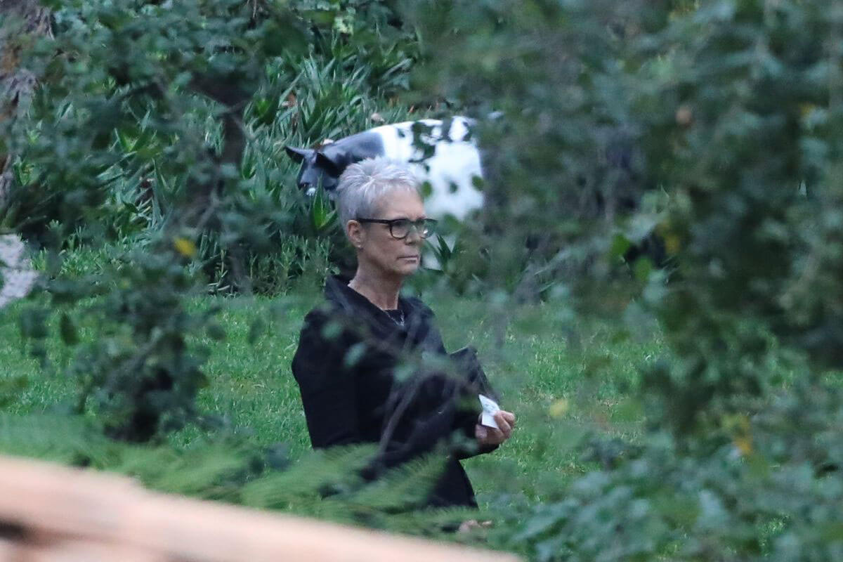 Jamie Lee Curtis at Memorial Service of Debbie Reynolds and Carrie Fisher in Los Angeles