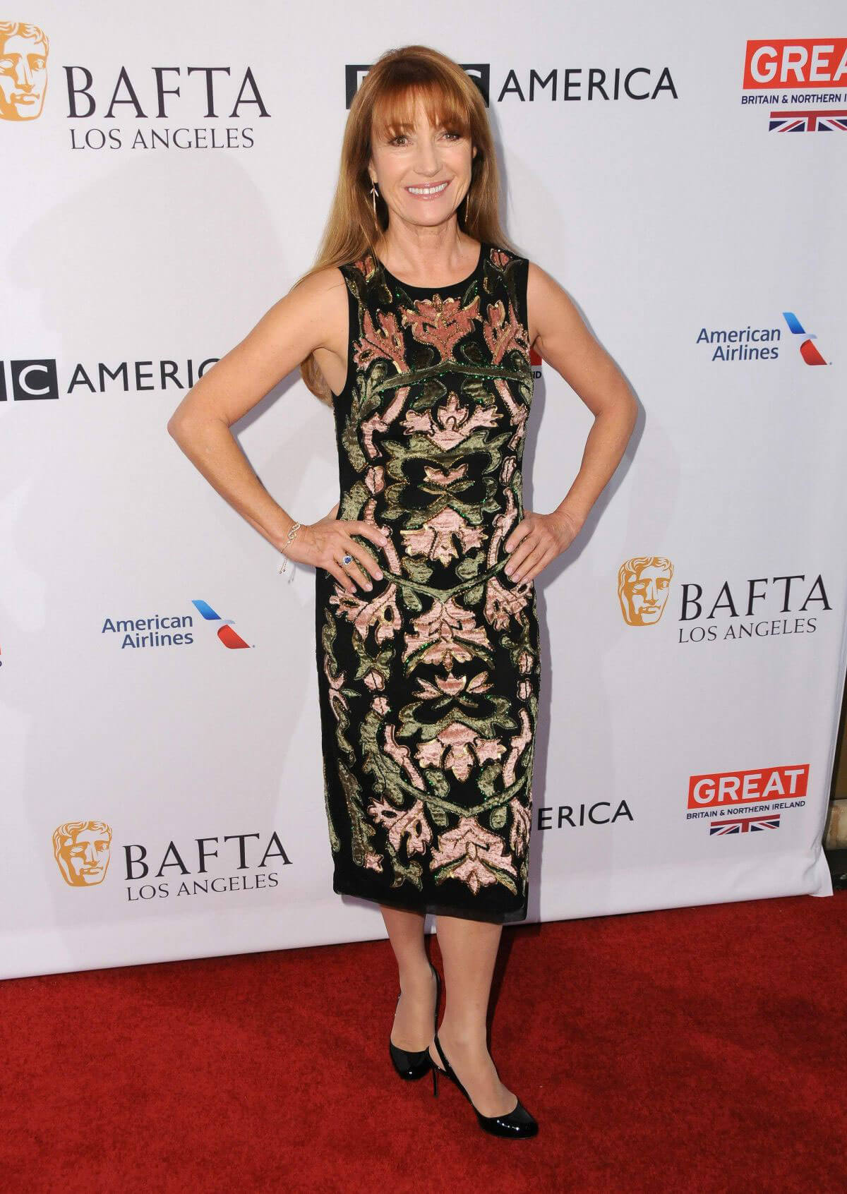 Jane Seymour at Bafta Tea Party in Los Angeles