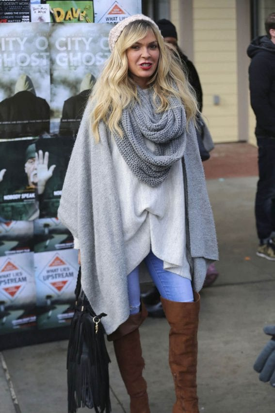 Jasmine Dustin Out in Park City