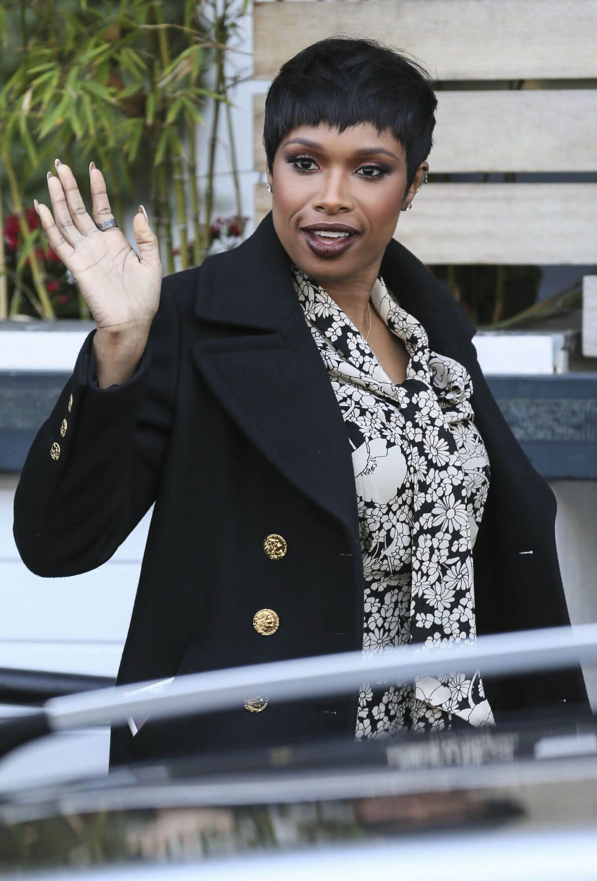 Jennifer Hudson Arrives at ITV Studios in London