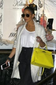 Jennifer Lopez Out Shopping in Beverly Hills Photos