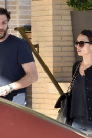 Jordana Brewster and Andrew Form Shopping at Barneys New York Photos