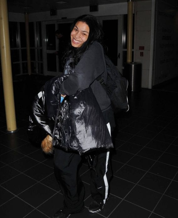 Jordin Sparks at Airport In Washington