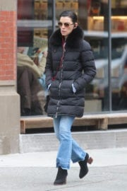 Julianna Marguiles Out And About In New York