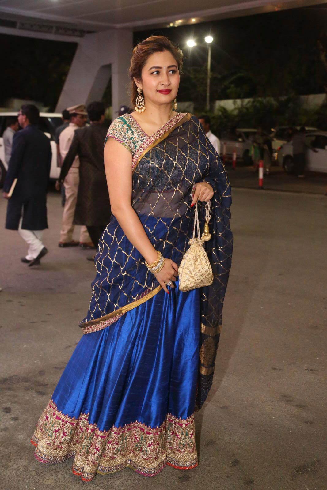 Jwala Gutta at Sania Mirza Sister Marriage