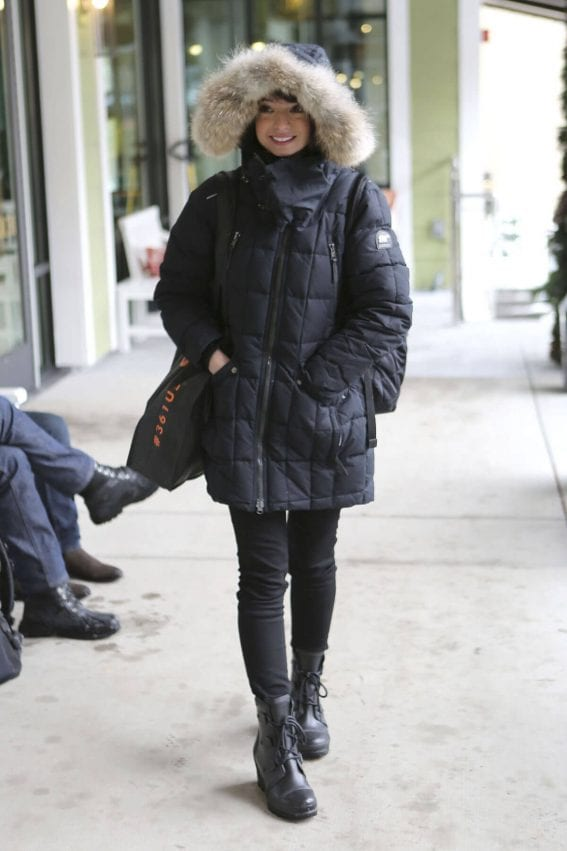 Kate Micucci Out in Park City