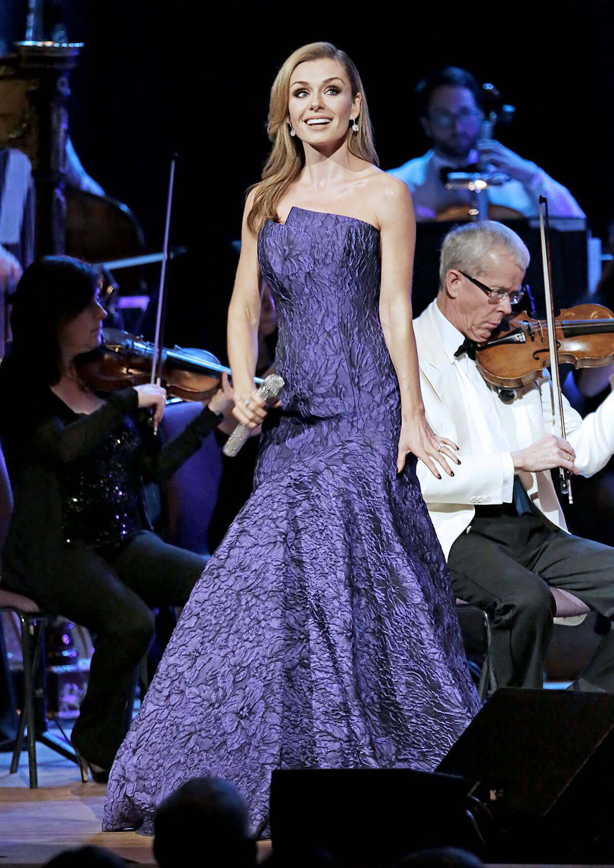 Katherine Jenkins Performs at Manchester Bridgewater Hall