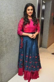 Keerthy Suresh at Remo Movie Success Meet