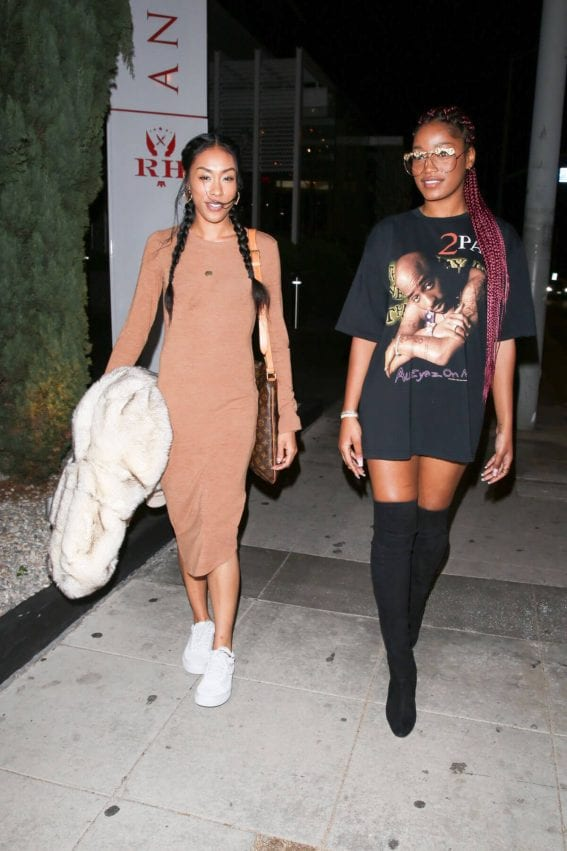 Keke Palmer Night Out in West Hollywood