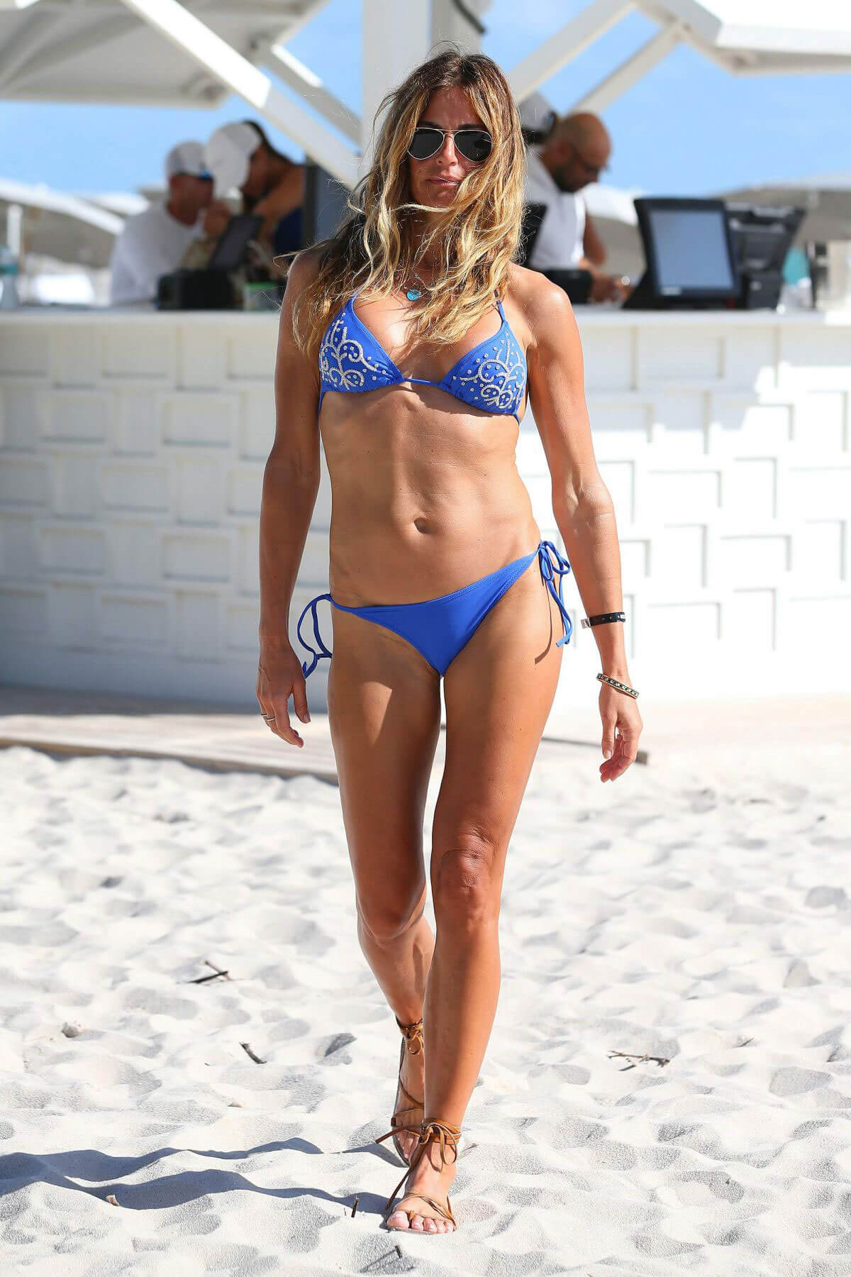 Kelly Killoren Bensimon Stills in Bikini in South Beach