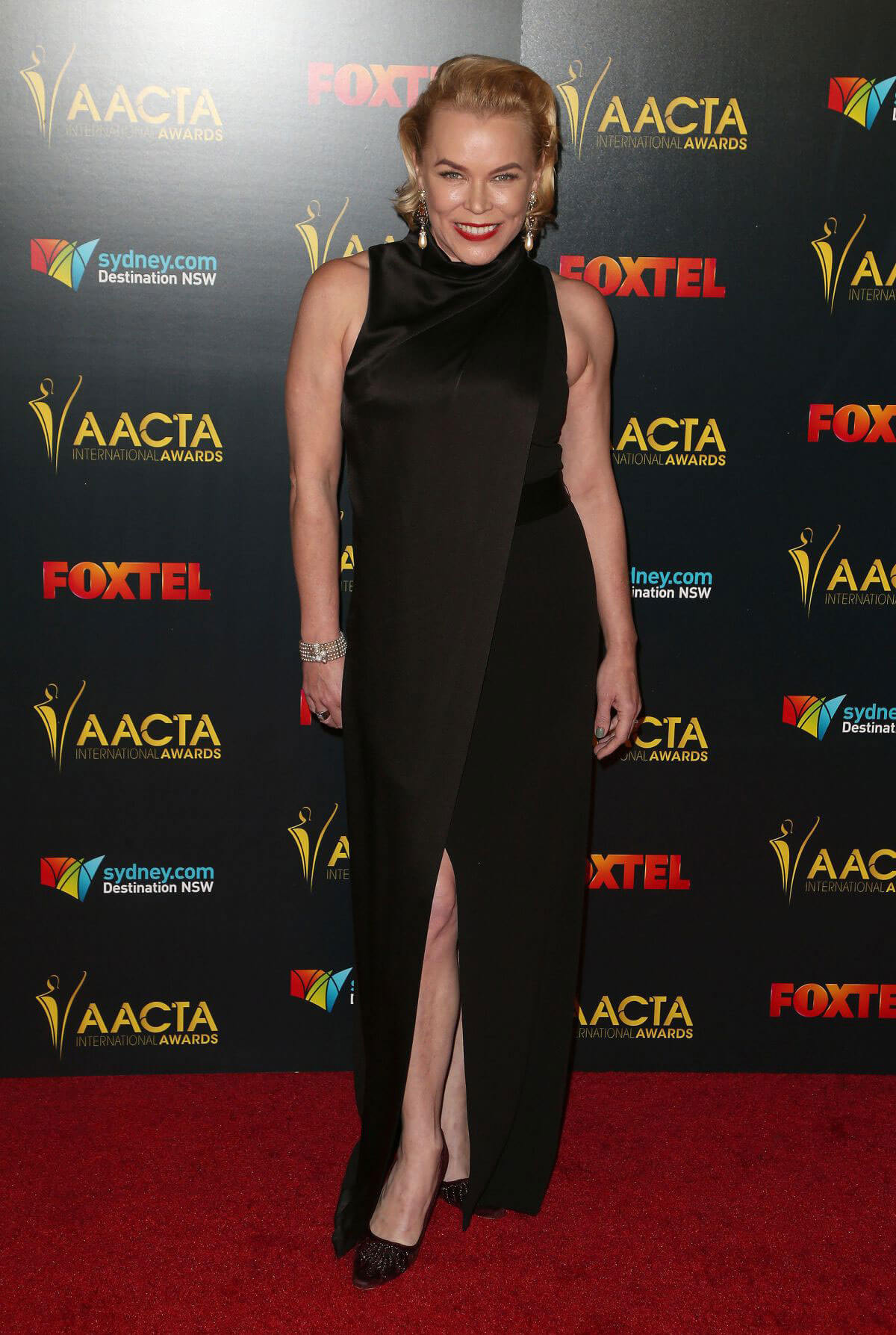 Kym Wilson at AACTA International Awards 2017 in Hollywood