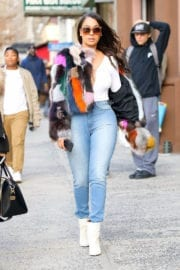 Lala Anthony Out and About in New York